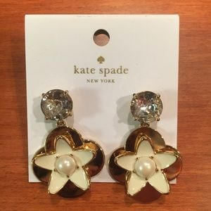 Brand new Kate Spade flower earrings
